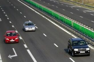 Tanar depistat de radar pe A3 in timp ce conducea cu 206 km/h. Amenda pe care a primit-o