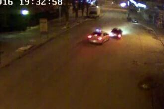 Primele imagini cu urmarirea ca in filme de pe strazile Constantei. Politistii au tras 6 focuri in masina suspectilor
