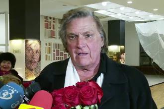 Florin Piersic a implinit 80 de ani si a fost decorat de Iohannis.