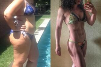 Consuma cate 5.000 de calorii pe zi si a ajuns la 120 kg. Gestul curajos facut, dupa care a slabit si a devenit sportiva