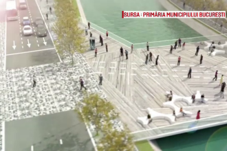 Proiectele care schimba pe hartie centrul Bucurestiului. Unde ar putea sa apara zone de promenada sau parcari subterane