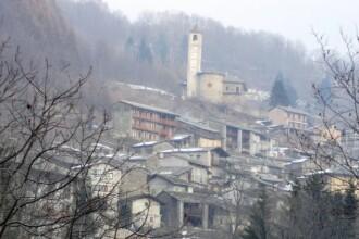 Primul copil nascut dupa 28 de ani intr-un orasel din Italia. Pablo a ridicat numarul locuitorilor din Ostana la 85