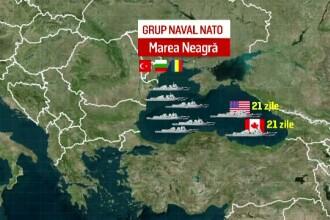 Romania cere infiintarea unei flote NATO in Marea Neagra, pentru
