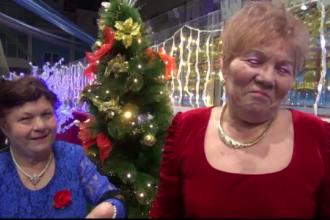 Primaria Galati a organizat petrecerea de Revelion pentru 1000 de pensionari. Cu totii au intampinat noul an prinsi in hora