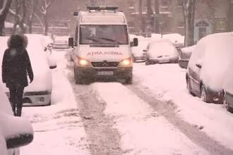 Sute de oameni au cerut ajutor in Bucuresti de la medici, in ultimele ore. Care sunt primele semne ale hipotermiei