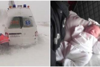 Misiuni dramatice pentru salvatori: interventii pentru 102 gravide si 51 de persoane blocate in masini. Gerul a facut 2 morti
