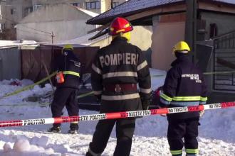 Explozie puternica in Constanta, din cauza acumularilor de gaze. Deflagratia a distrus peretii casei si a avariat o masina