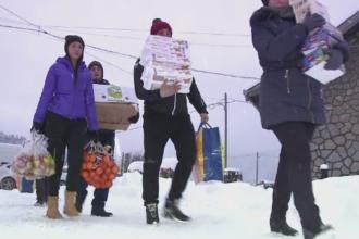 Copiii cu dizabilitati din Brasov, al caror centru a ars, au primit ajutor de la voluntari. Cum puteti dona