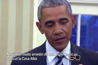 Barack Obama, pregatit sa plece cu familia de la Casa Alba.