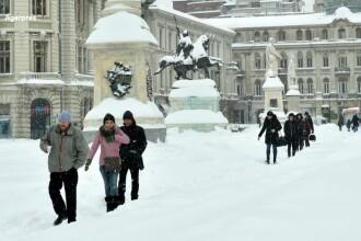 Urmeaza cateva zile de ger in Romania. Judetul in care s-au inregistrat -26,4 grade Celsius vineri dimineata