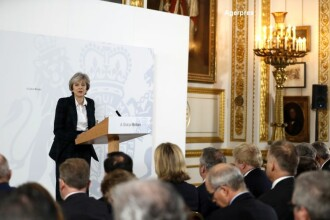 Discurs istoric al premierului britanic Theresa May, privind BREXIT.