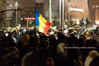 Mii de oameni au protestat in toata tara impotriva legii amnistiei si gratierii:
