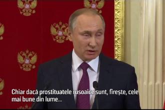 Putin, dupa scandalul filmarilor compromitatoare cu Trump: