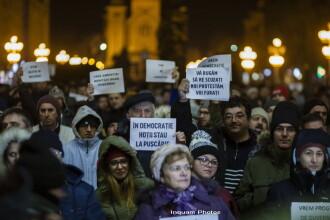 Noi proteste in tara: 1000 de oameni au iesit in strada, la Timisoara: