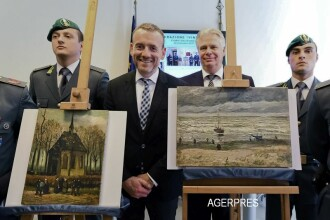 Italia va returna Olandei doua tablouri de Van Gogh, furate in 2002. Unde au fost descoperite pretioasele capodopere