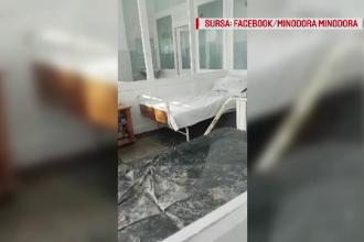 Imagini revoltatoare cu mizeria din Spitalul din Tecuci postate de o pacienta pe Facebook. Medicii dau vina pe pacienti