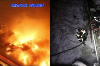 INCENDIU IN CLUBUL BAMBOO. 15 persoane au fost audiate la Politia Capitalei. VIDEO de sus cu cladirea inghitita de flacari