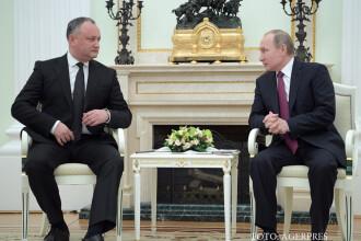 Liderul pro-rus al Moldovei vrea sa rupa complet relatiile cu NATO. Planul discutat cu Vladimir Putin