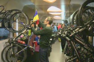 158 de ani de la Mica Unire. Mai multi biciclisti au plecat cu Trenul Unirii spre Iasi, pentru a participa la hora