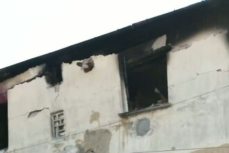 Explozie intr-un bloc din Cluj, din cauza acumularii de gaze. Un tanar a ajuns la spital; toate locuintele au fost avariate