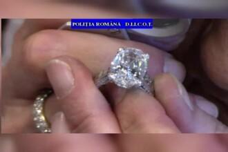 Inelul furat de un roman dintr-un magazin din Paris a ajuns inapoi la proprietar. Un specialist elvetian a venit in Romania