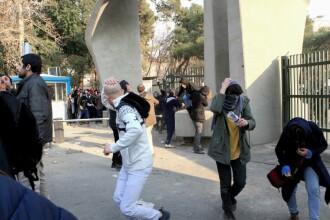 10 persoane au murit, în Iran, în urma protestelor violente din marile oraşe