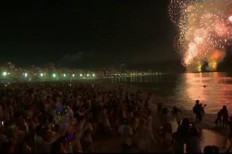 """2018, întâmpinat cu focuri de artificii în lume. Revelion """"de vară"""" cu 2 milioane de oameni, la Rio"""