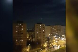 Obiectul misterios de pe cerul României. Cum explică specialiștii acest fenomen