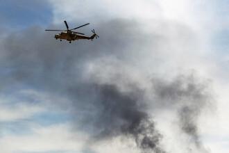 Doi piloți ruși au murit în Siria, în urma prăbușirii unui elicopter Mi-24