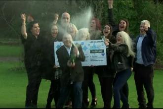 Un taximetrist, tatăl a cinci fete, a câștigat 24 de milioane de lire la loterie