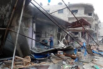 23 de civili au fost uciși în urma loviturilor aeriene rusești, lângă Damasc