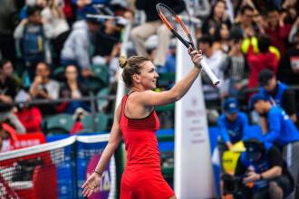 Simona Halep, în finala turneului de la Shenzen după ce a învins-o pe Irina Begu