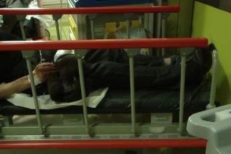 Bărbat din Iași, în stare gravă la spital după ce a fost bătut de soție