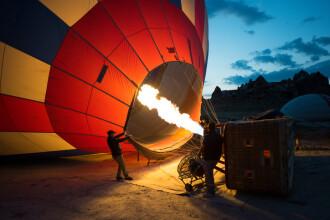 Un balon cu aer cald s-a prăbușit, în Egipt: 1 mort și 12 răniți