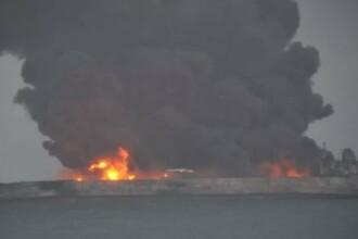 Tragedie în apele Chinei. 32 de marinari sunt dați dispăruți după ce un petrolier s-a ciocnit cu un cargo
