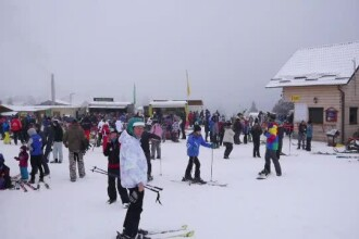 Stațiunile unde se poate schia în România, în ciuda căldurii neobișnuite