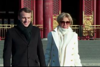 """Xi Jinping și Emmanuel Macron au semnat acorduri """"pe bandă rulantă"""""""