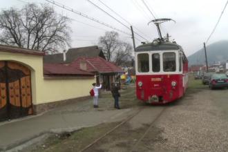 Primul tramvai turistic din România s-a defectat la prima cursă după recondiționare