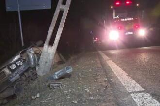 Un şofer beat a lăsat zeci de case fără curent, după ce a mers cu maşina prin şanţ