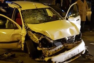 Un şofer din Oradea a făcut atac cerebral în timp ce era la volan şi a distrus 5 maşini