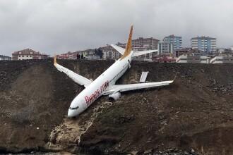 De ce a ieşit avionul turcesc de pe pistă.