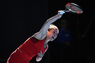 Simona Halep - Destanee Aiava 7-6, 6-1 la Australian Open 2018. Simona are probleme medicale, dar merge în turul 2