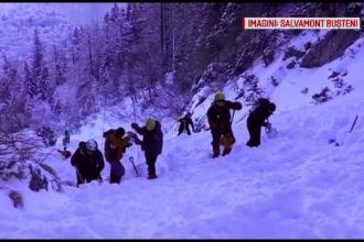 Alpinistul surprins de avalanșă în Munții Bucegi, căutat de salvatori și de prieteni