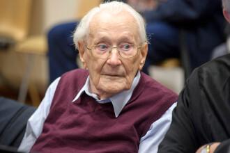 """""""Contabilul de la Auschwitz"""", acuzat de complicitate la uciderea a 300.000 de evrei, rămâne la închisoare"""