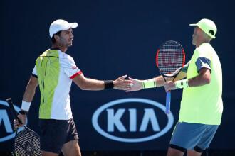 Tecău şi Rojer au ratat calificarea în optimile probei masculine de dublu la Australian Open