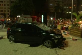Un copil de 8 luni a murit, după ce o mașină a intrat în mulțime, în Rio: 15 răniți