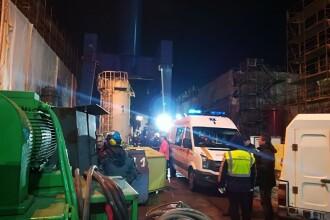 Accident în Şantierul Naval din Tulcea. Un bărbat a murit strivit între două piese. VIDEO
