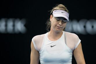 Maria Sharapova a fost eliminată de Angelique Kerber la Australian Open