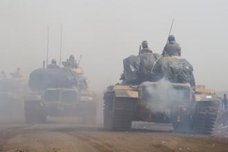 "Criza din Siria: Turcia ""a preluat controlul"" asupra mai multor sate din Afrin"