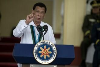 """Duterte, declarații controversate: """"Folosesc marijuana ca să mă ţină treaz"""""""